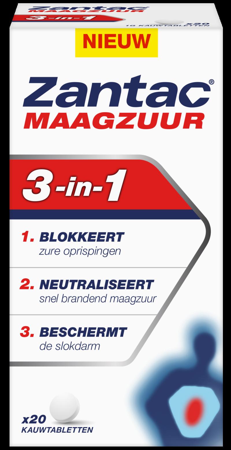 Zantac<sup>®</sup> Maagzuur 3-in-1