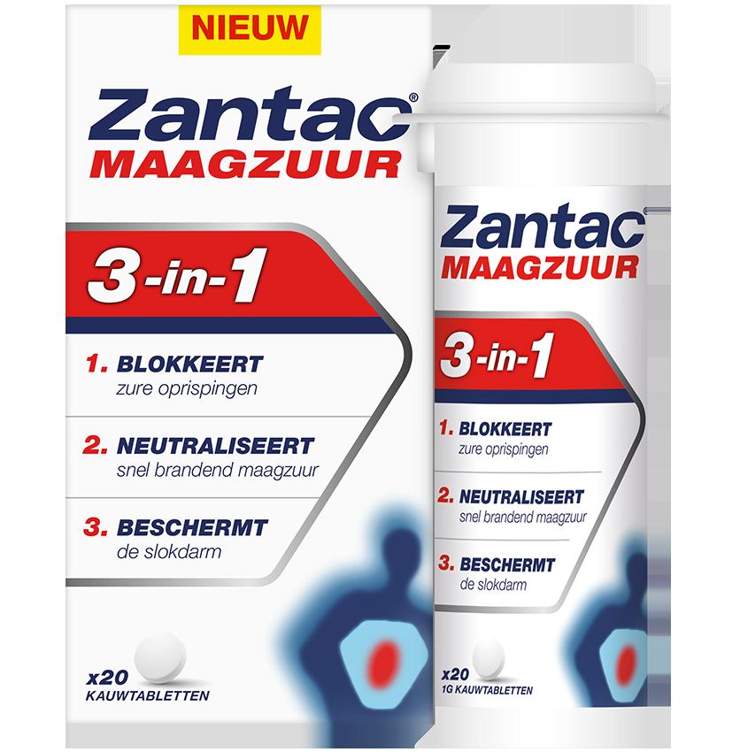 Zantac<sup></sup> Maagzuur 3-in-1